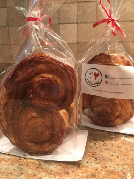 3 Palmiers with cinnamon