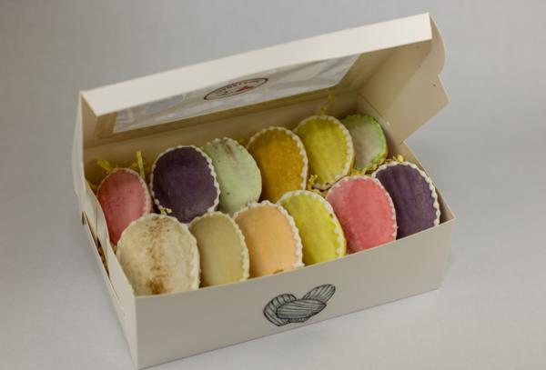 Box of 12 Glazed Madeleines (Your Choice of Flavors)
