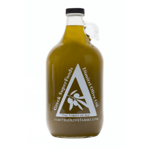 Unfiltered Extra Virgin Olive Oil (1/2 gallon Jug)