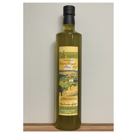 Extra Virgin Olive Oil Unfiltered (750ml)