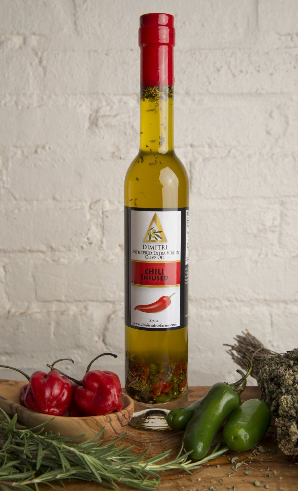 Chili Infused Extra Virgin Olive Oil