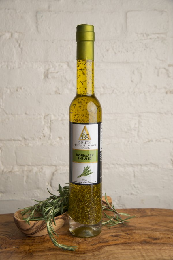 Rosemary Infused Unfiltered Extra Virgin Olive Oil