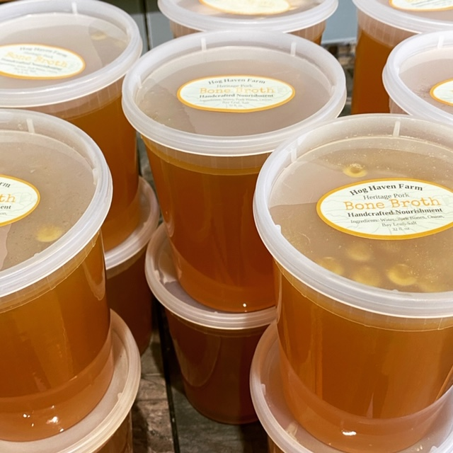 Heritage Pork Bone Broth (quart)