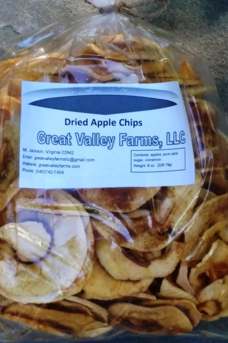Apple Chips (Half-Pound)