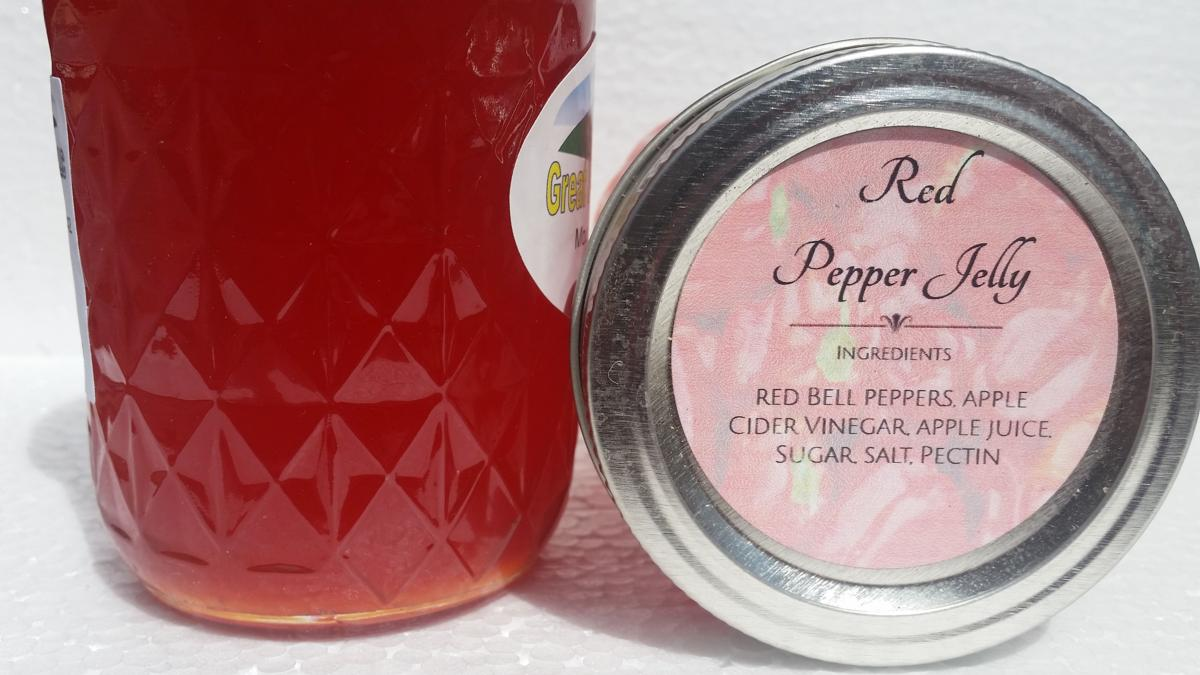 Red Pepper Jelly (8 oz.)